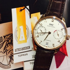 IWC [NEW] Portogieser 7 Days Red Gold Power Reserve IW500701 (Retail:HK$186,000)