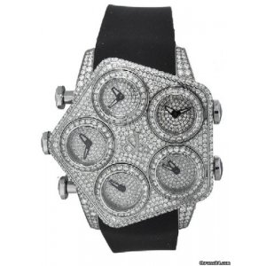 Jacob & Co. [NEW] G5 Series Global Five Time Zone Watch (Retail:US$77,700)