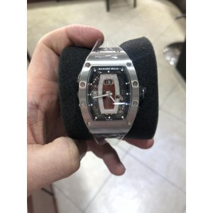 Richard Mille [NEW] RM 037 Titanium Jasper Dial Ladies Watch (Retail:US$105,500)