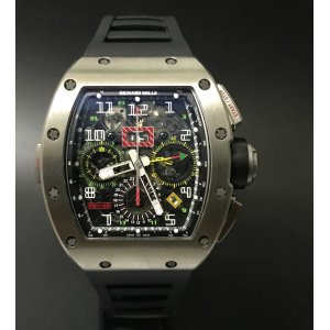 Richard Mille [2016 USED] RM 11-02 Titanium GMT Flyback Chronograph Dual Time Zone