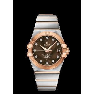 Omega [NEW] Constellation Chronometer 123.20.38.21.63.001 (Retail:HK$78,600)
