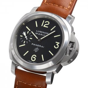 PANERAI NEW-全新 PAM01005 LUMINOR MARINA LOGO ACCIAIO (Retail:US$5,000)