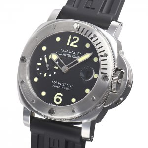 PANERAI NEW-全新 PAM01024 LUMINOR SUBMERSIBLE AUTOMATIC ACCIAIO (Retail:US$7,200)