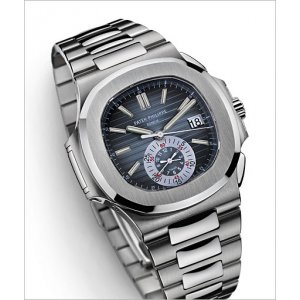 Patek Philippe [FINE+RARE+COLLECTABLE] Nautilus Chronograph Blue Dial 5980/1A-001 - SOLD!!