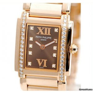 Patek Philippe [NEW] Ladies Twenty~4 Wristwatch Rose Gold 4908/11R-010 (Retail:HK$293,700)