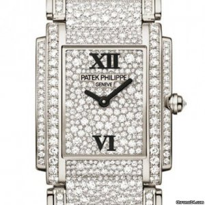 Patek Philippe [NEW] White Gold Ladies Twenty~4 Medium 4910/52G (Retail:HK$1,992,100)