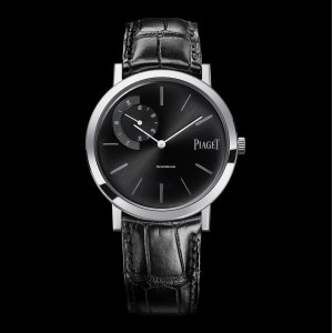 PIAGET [NEW] Altiplano Mechanical Black Dial G0A34114 (Retail:HK$145,000)