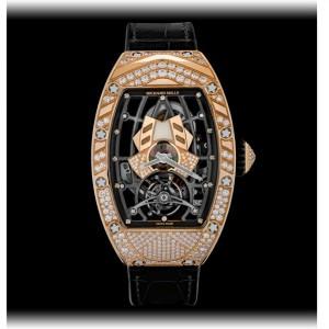 Richard Mille [NEW] RM 71-01 Automatic Tourbillon Talisman Rose Gold Ladies