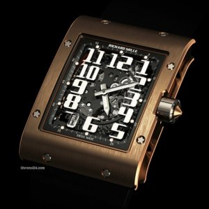 Richard Mille (理查德•米勒) [NEW] RM 016 Automatic Extra Flat Red Gold (Retail:US$100000) - SOLD!!