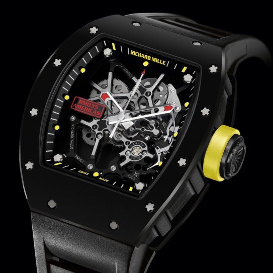 All Watches : Richard Mille NEW Rafael Nadal Watch RM ...