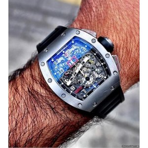Richard Mille [NEW+RARE] RM 011 Titanium Felipe Massa (Retail:US$115,000)