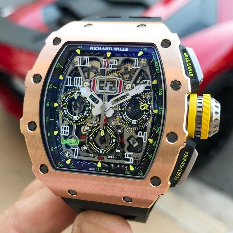 Richard Mille RM 11-03 Automatic Flyback Chronograph Red