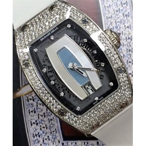 Richard Mille [NEW] RM 007 Ladies White Gold MOP Dial Full Set Diamond (Retail:US$155,000) - DISCONTINUED!!