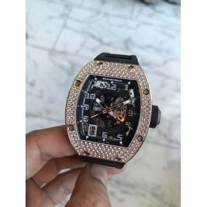Richard Mille [NEW] RM 010 RG Full Set Diamonds