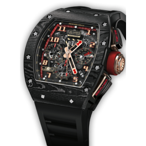 Richard Mille [NEW] RM 011 Carbon NTPT Lotus F1 Team (Retail:HK$1,170,000) - SOLD!!