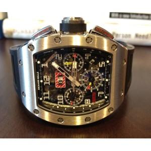 Richard Mille [NEW] RM 011 Felipe Massa Flyback Chronograph White Gold (Retail:US$140,000)