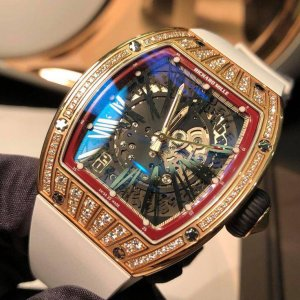 Richard Mille [NEW] RM 023 Rose Gold Med Set Diamond Ladies Watch - SOLD!!