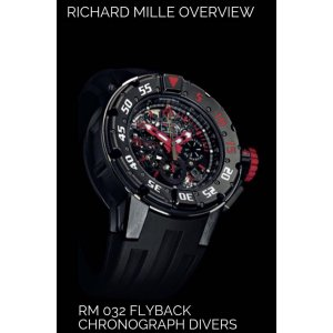 Richard Mille NEW RM 032 Dark Diver Auto Chronograph Diver - SOLD!!