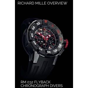 Richard Mille NEW RM 032 Dark Diver Auto Chronograph Diver - SOLD!!