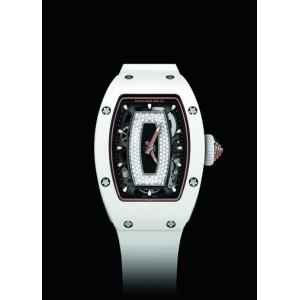 RICHARD MILLE [NEW] RM 07-01 CERAMIC WHITE JASPER LADIES (Retail:US$105,000)