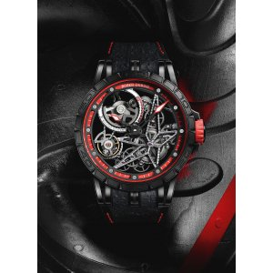 Roger Dubuis NEW-全新-LIMITED 88 PIECE-限量88支 Excalibur Spider Pirelli Red RDDBEX0617