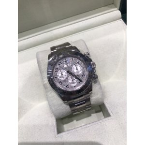 Rolex [MINT] 116519  Daytona White Gold Diamond Watch - SOLD!!