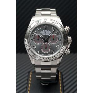 Rolex [NEW] 116509 Daytona White Gold Grey Dial 40mm (Retail:HK$269,300) - SOLD!!