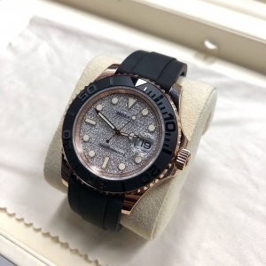 Rolex [NEW] 116655 New 2018 Yacht Master Pave Diamond 40mm Mens Watch