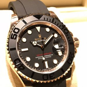 ROLEX [NEW 2017 Model] ROSE GOLD YACHT MASTER 116655