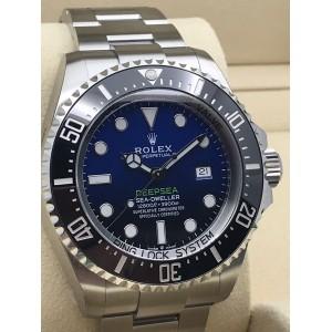 Rolex [NEW 2018 MODEL] 126660-98220-BLUE Deepsea Blue Watch