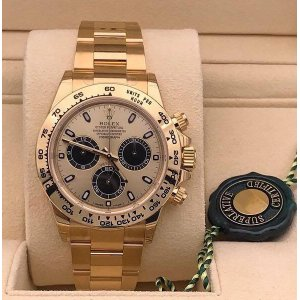 Rolex [NEW] Cosmograph Daytona 116508 Champagne Dial Yellow Gold Watch
