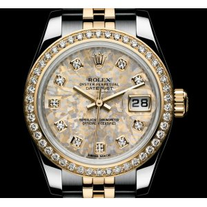 Rolex [NEW] Datejust 26mm Lady Steel and Yellow Gold 46 Diamond Jubilee Bracelet (Retail:HK$136,300)