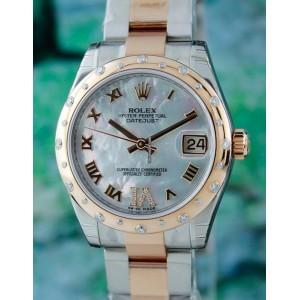 Rolex [NEW] Datejust Mother of Pearl Diamond Roman Dial 178341 (Retail:HK$114,300)