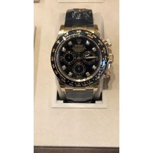 Rolex NEW-全新-香港行貨 116518-8di-LN Oysterflex 黑色面石字 (Retail:HK$219,100)