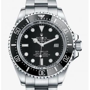 Rolex [NEW] Sea-Dweller DEEPSEA 116660 Black 44mm Watch (Retail:HK$88,000)