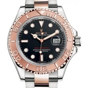 Rolex 全新 Rolesor Everose 40mm 116621 Black Dial Watch